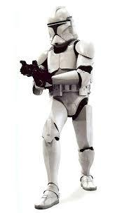 Vestito di carnevale star wars - truppa d'assalto