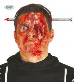 Accessorio halloween chiodo in testa
