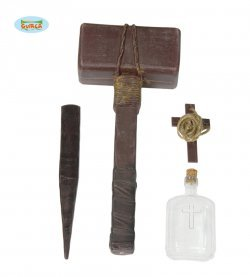 Accessorio halloween kit escorcista