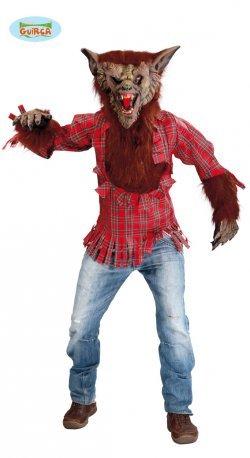 Costume di halloween lupo mannaro