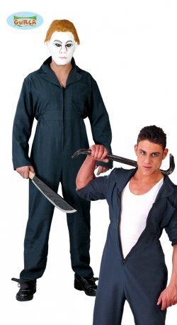 Vestito di halloween tuta killer e meccanico