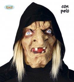 Maschera di halloween strega