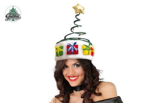 Accessori di natale cappellino a molla