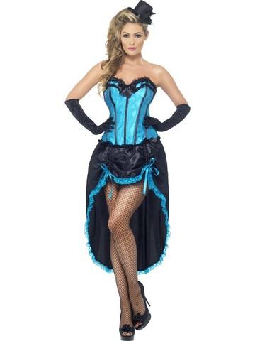 Vestito di carnevale ballerina di burlesque