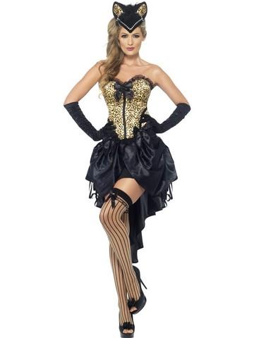 Costume di carnevale ballerina di burlesque
