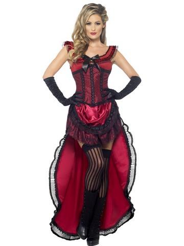 Costume di carnevale da dama western sexy