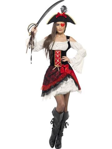 Costume di carnevale da piratessa corsara sexy