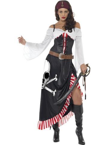 Costume di carnevale da piratessa corsara