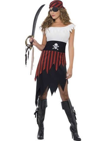 Costume di carnevale da piratessa | Grandi Sconti | Apollo -  Il tuo dream shop a Lugano