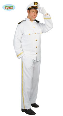 Costume di carnevale da capitano nave