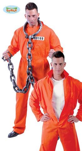 Costume di carnevale da detenuto