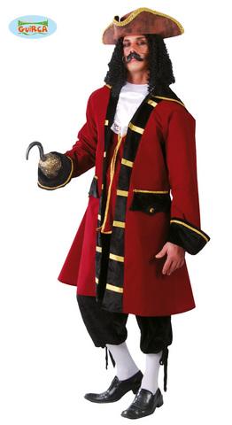 Costume di carnevale da pirata capitano
