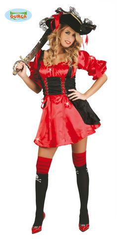 Costume di carnevale da piratessa sexy