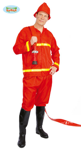 Costume di carnevale da pompiere