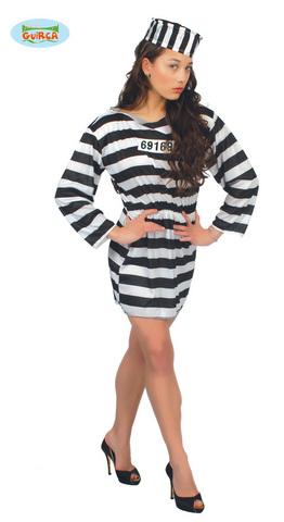 Costume di carnevale da prigioniera