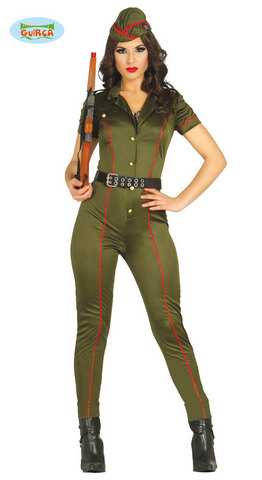 Costume di carnevale da soldatessa sexy
