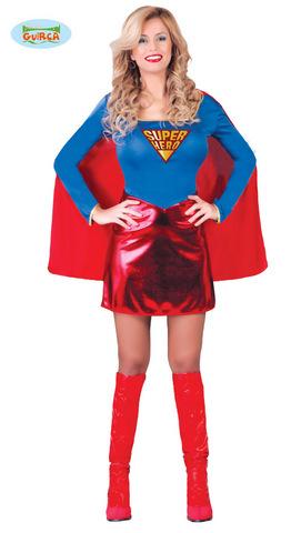 Costume di carnevale da supergirl