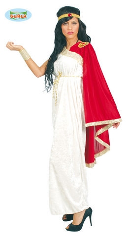 Costume di carnevale toga romana