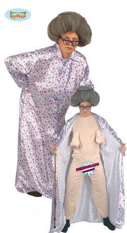 Costume di carnevale da vecchietta sexy