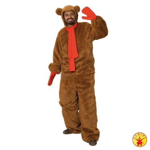 Costume di carnevale da orso bruno in peluche