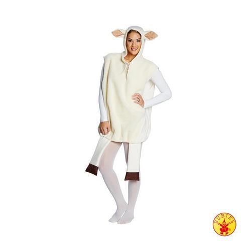 Costume di carnevale da pecora in peluche