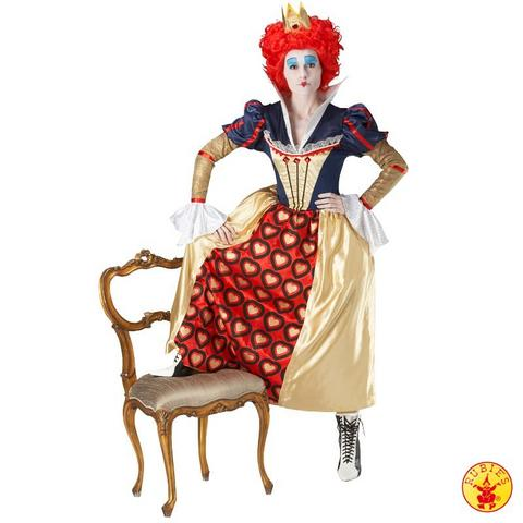 Costume di carnevale da regina di cuori