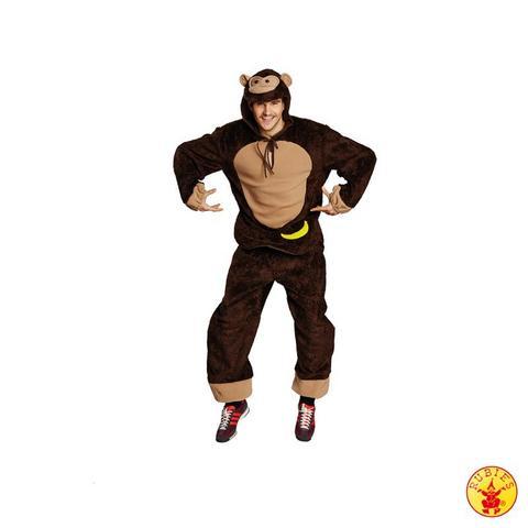 Costume di carnevale da scimmia in peluche