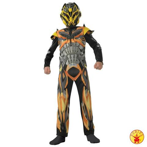 Costume di carnevale da bumble bee transformers bambino