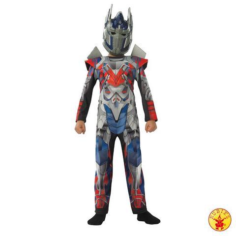 Costume di carnevale da optimus prime transformers bambino