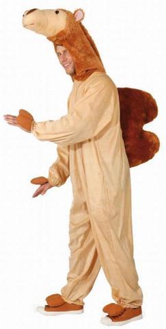 Costume di carnevale da cammello in peluche
