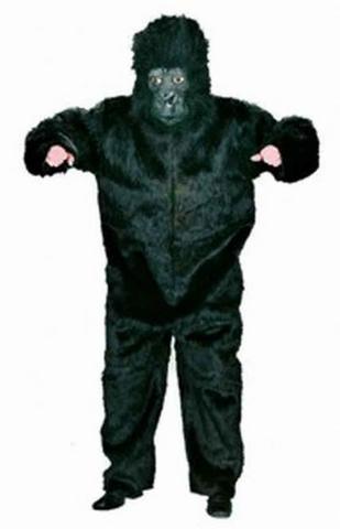 Costume di carnevale da gorilla in peluche