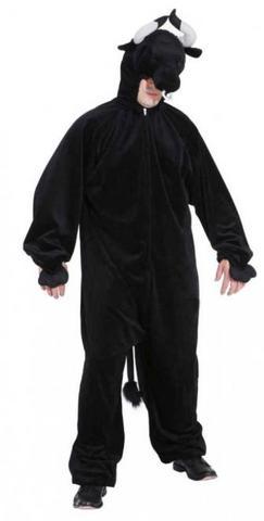 Costume di carnevale da toro in peluche