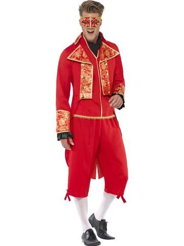 Costume di halloween diavolo barocco
