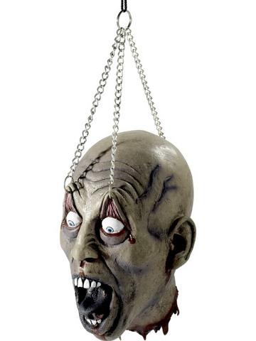 Decorazione di halloween testa appesa
