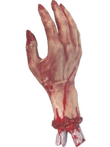 Decorazione di halloween mano morta