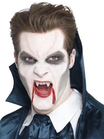 Accessorio di halloween trucco e denti vampiro