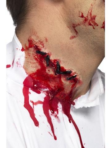 Accessorio di halloween ferita collo