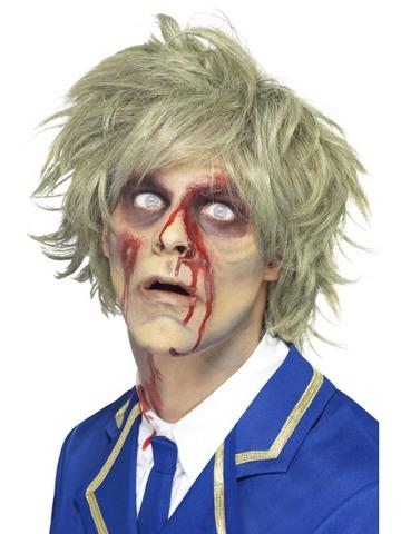 Accessorio di halloween parrucca zombie