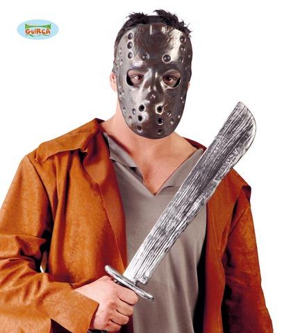 Accessorio di halloween macete con maschera