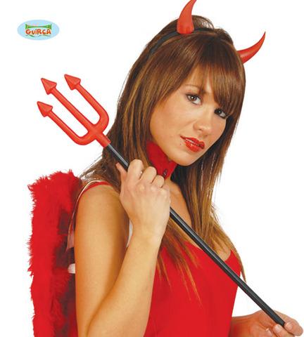 Accessorio di halloween forca diavolo mini