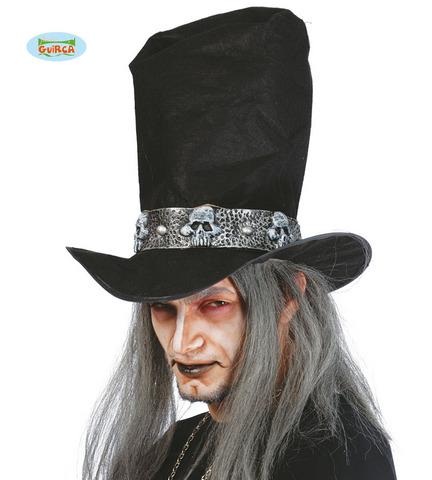 Accessorio di halloween cappello vampiro con capelli