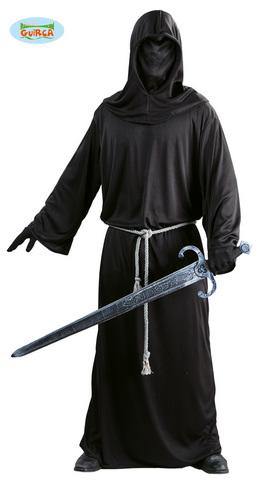 Costume di halloween cavaliere nero