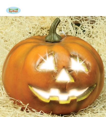 Decorazione di halloween zucca luminosa