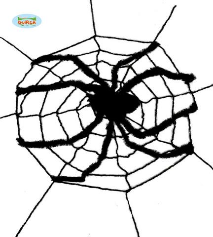 Decorazione di halloween ragno gigante