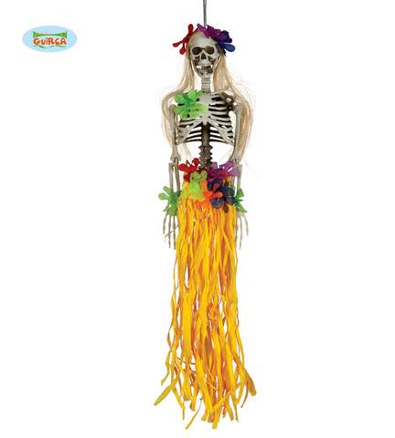 Decorazione di halloween scheletro hawaiano