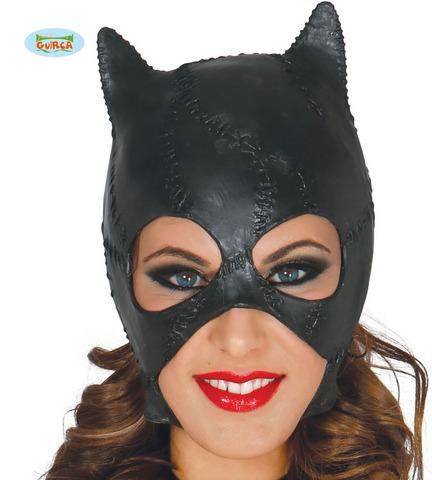Accessorio di halloween maschera gatta