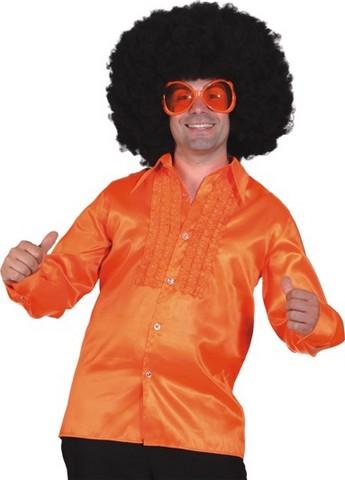Camicia anni '70 arancione