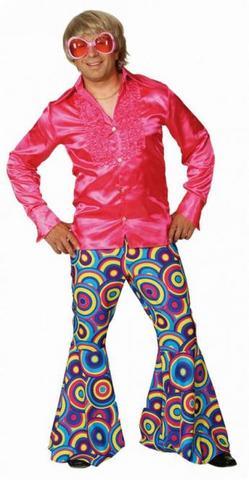 Pantaloni hippie multicolor