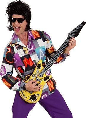 Camicia anni '80 rock