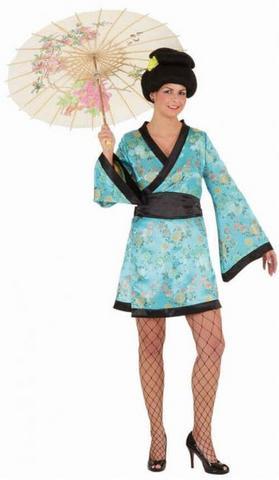 Costume di carnevale kimono geisha